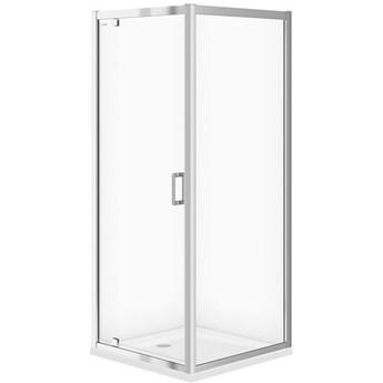 Kabina kwadratowa ARTECO PIVOT 80x190 szkło transparentne