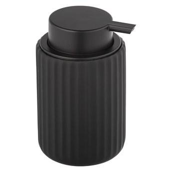Czarny ceramiczny dozownik do mydła Wenko Belluno