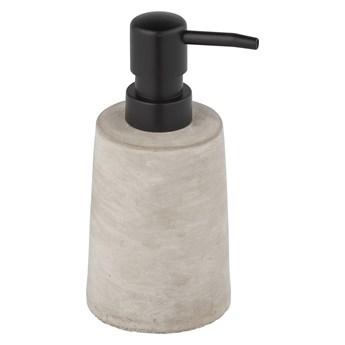 Szary betonowy dozownik do mydła Wenko Villena