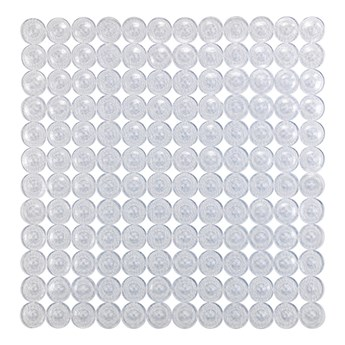 Przezroczysta mata pod prysznic Wenko Belem, 54x54 cm