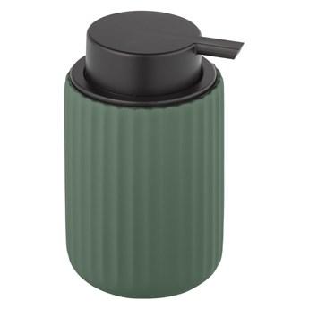 Zielony ceramiczny dozownik do mydła Wenko Belluno