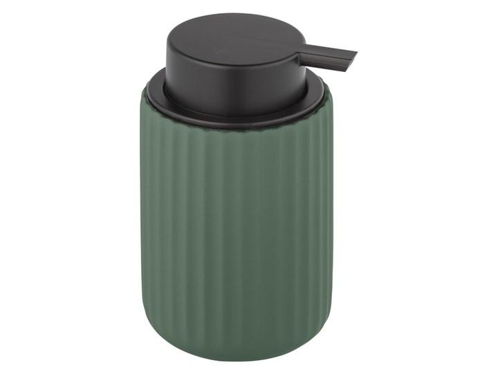 Zielony ceramiczny dozownik do mydła Wenko Belluno Ceramika Dozowniki Tworzywo sztuczne Kategoria Mydelniczki i dozowniki