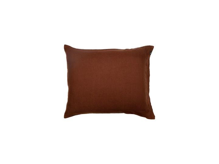 Komplet 2 szt brązowe poszewki na poduszkę pościel Sunshine z lnu 50x60 HIMLA Rozmiar poduszki 50x60 cm 50x60 cm Poszewka na poduszkę Bawełna Len Kolor Szary