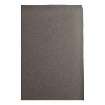 Szary pokrowiec na zagłówek łóżka 180x140 Weeknight z lnu i bawełny HIMLA