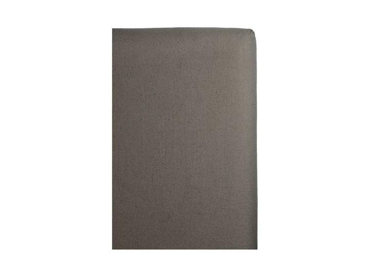 Szary pokrowiec na zagłówek łóżka 180x140 Weeknight z lnu i bawełny HIMLA Len 140x180 cm 200x220 cm Bawełna Wzór Paski