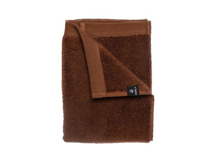 Brązowy ręcznik kąpielowy Maxime GOTS z bawełny organicznej 100x150 HIMLA 100x150 cm Komplet ręczników Frotte Bawełna 50x100 cm Kategoria Ręczniki