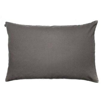 Szara poduszka na zagłówek Weekday 60x90 z lnu i bawełny HIMLA