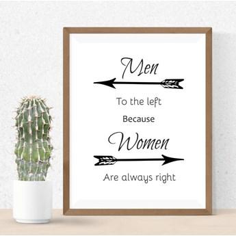 Plakat Men women 003