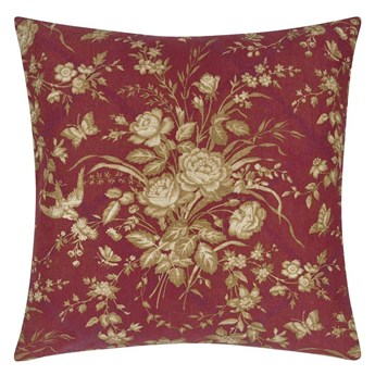Poduszka dekoracyjna Ralph Lauren Eliza Floral Sunbaked Red