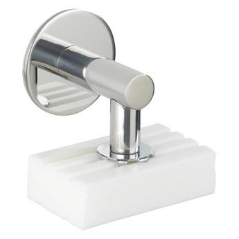 Magnetyczna mydelniczka ze stali nierdzewnej Wenko Turbo-Loc®