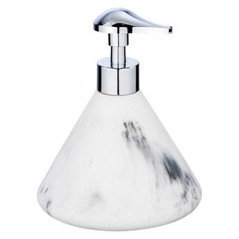 Biało-szary dozownik do mydła Wenko Desio