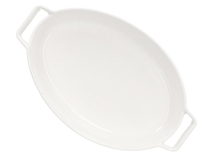 BAKER Naczynie do zapiekania białe 36x22 cm Kolor Biały