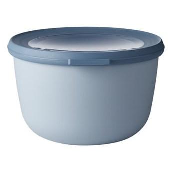 Niebieska miska z wieczkiem Rosti Mepal Nordic, 1 l