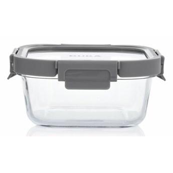 Pojemnik na żywność lunchbox kwadratowy DUKA IDEAL 750 ml szary