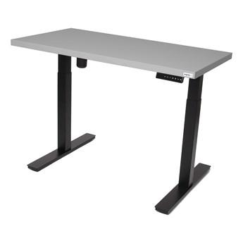 Płyta meblowa - Ergonomiczne biurko elektryczne 1-silnikowe  140x70cm
