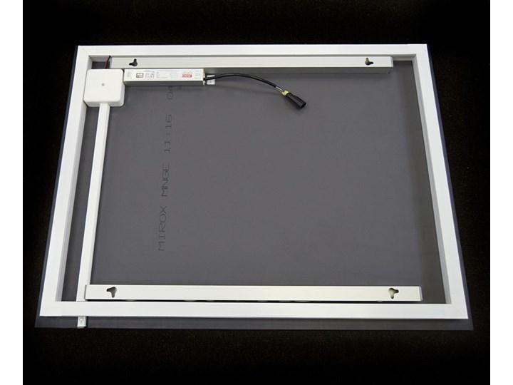 Lustro Shape 04 + Ambilight Lustro podświetlane Ścienne Kategoria Lustra Prostokątne Styl Nowoczesny