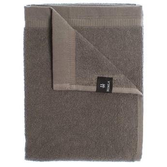 2-pak szare ręczniki 70x140 Lina OEKO-TEX z lnu i bawełny HIMLA