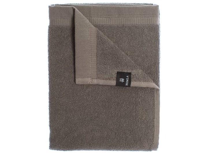 3-pak szare ręczniki 50x70 Lina OEKO-TEX z lnu i bawełny HIMLA Bawełna 50x70 cm Len Ręcznik do rąk Kolor Szary