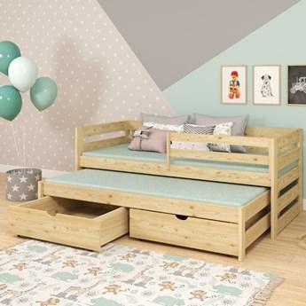 Łóżko pojedyncze z wysuwem KACPER wiele rozmiarów i kolorów