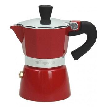 Kawiarka Tognana Coffee Star 6 TZ, czerwona
