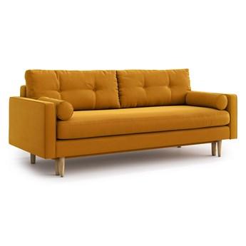 Sofa Esme z funkcją spania, Golden Velvet
