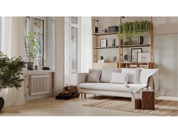 Sofa 3-osobowa Joleen, Golden Velvet Głębokość 88 cm Stała konstrukcja Kolor Złoty