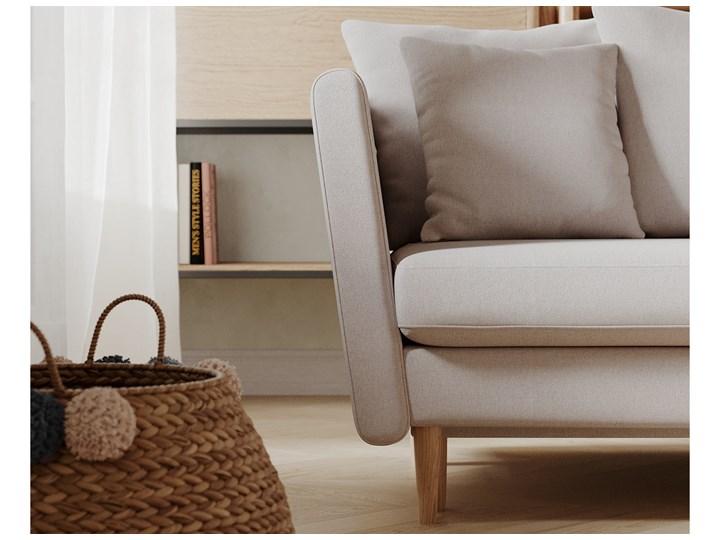 Sofa 3-osobowa Joleen, Golden Velvet Kolor Złoty Głębokość 88 cm Stała konstrukcja Kategoria Sofy i kanapy