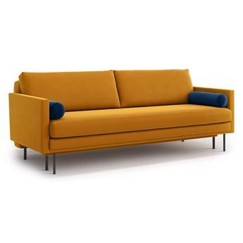 Sofa Blues z funkcją spania, Golden Velvet/Navy Blue