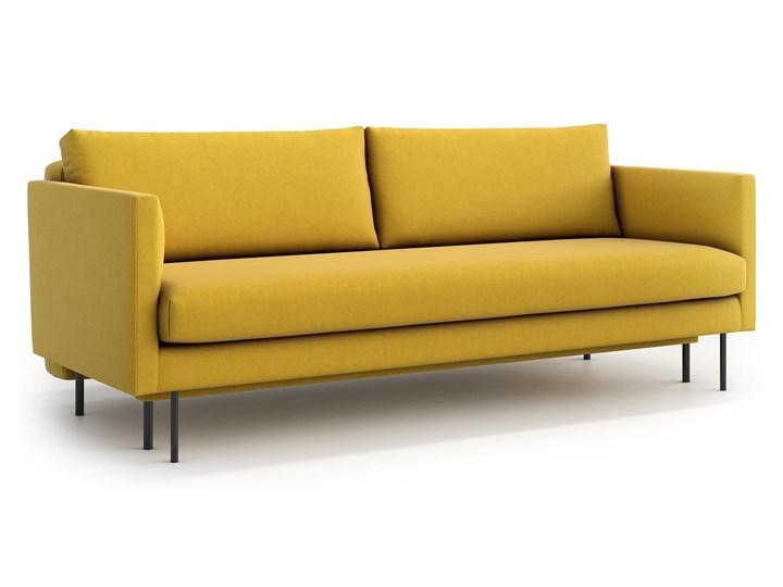 Sofa Salma z funkcją spania, Canary Głębokość 97 cm Szerokość 212 cm Stała konstrukcja Materiał obicia Tkanina