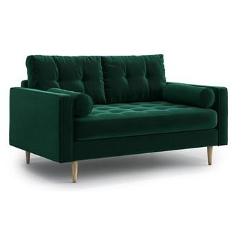 Sofa Esme II pikowana 2-osobowa, Bottle Green