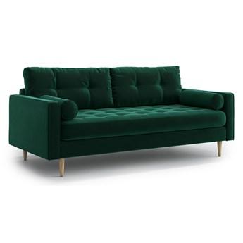 Sofa Esme II pikowana 3-osobowa, Bottle Green