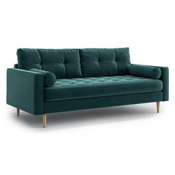 Sofa Esme II pikowana 3-osobowa, Jade