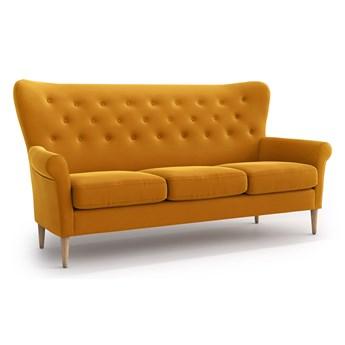 Sofa Amelie 3-osobowa, Golden Velvet