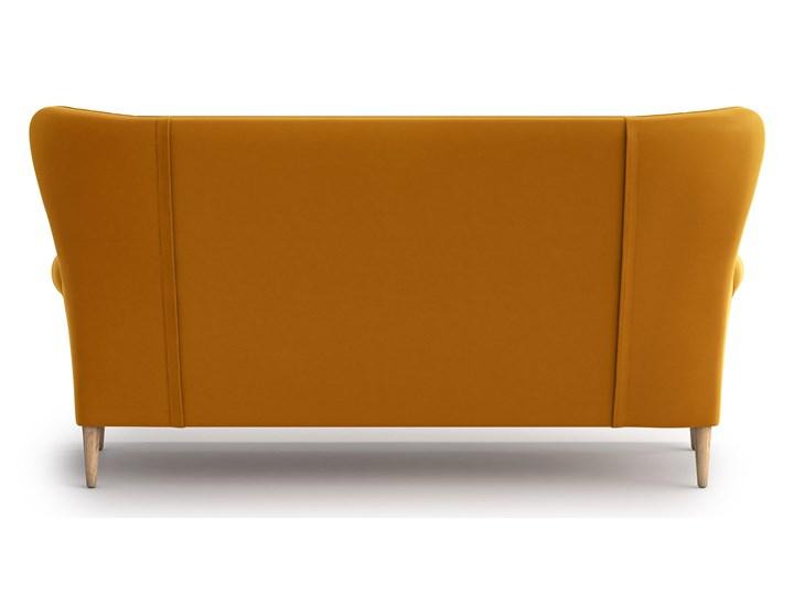 Sofa Amelie 3-osobowa, Golden Velvet Boki Z bokami Stała konstrukcja Kategoria Sofy i kanapy