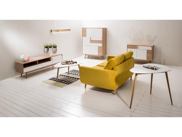 Sofa Harris z funkcją spania, Canary Szerokość 231 cm Głębokość 92 cm Stała konstrukcja Styl Skandynawski