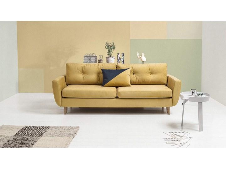 Sofa Harris z funkcją spania, Canary Szerokość 231 cm Stała konstrukcja Głębokość 92 cm Typ Gładkie