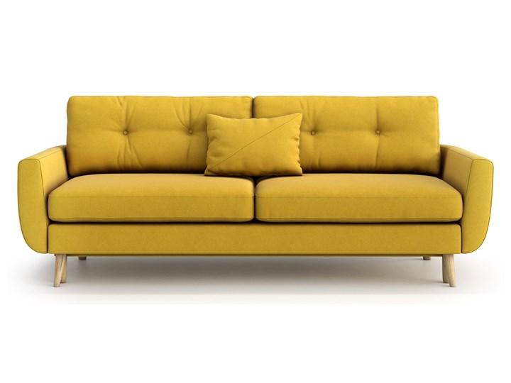 Sofa Harris z funkcją spania, Canary Styl Skandynawski Głębokość 92 cm Szerokość 231 cm Stała konstrukcja Typ Gładkie