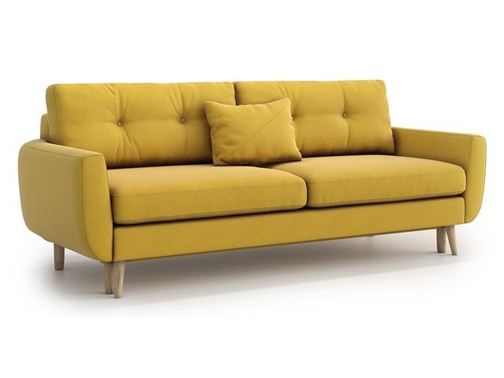 Sofa Harris z funkcją spania, Canary Szerokość 231 cm Stała konstrukcja Głębokość 92 cm Materiał obicia Tkanina Styl Skandynawski