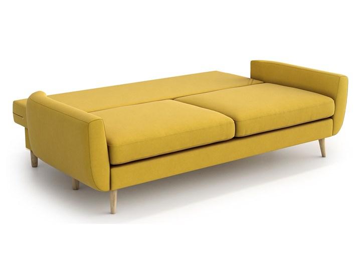 Sofa Harris z funkcją spania, Canary Szerokość 231 cm Stała konstrukcja Głębokość 92 cm Boki Z bokami