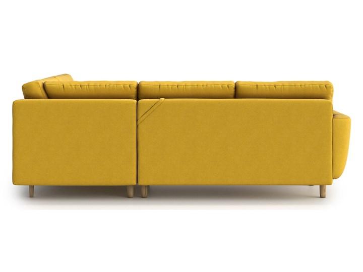 Narożnik Harris z funkcją spania, Canary, lewy Prawostronne Wysokość 86 cm Szerokość 215 cm Szerokość 250 cm Głębokość 95 cm Kolor Żółty