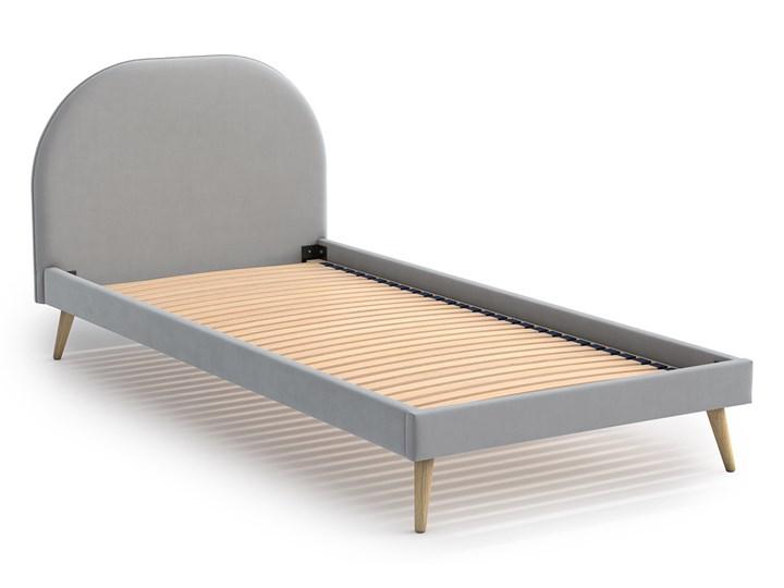 Łóżko Molly Single Bed, Aria Kategoria Łóżka do sypialni Tkanina Łóżko tapicerowane Kolor Szary