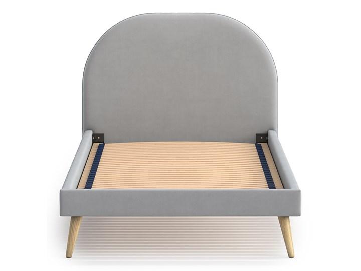 Łóżko Molly Single Bed, Aria Zagłówek Z zagłówkiem Łóżko tapicerowane Tkanina Rozmiar materaca 90x200 cm
