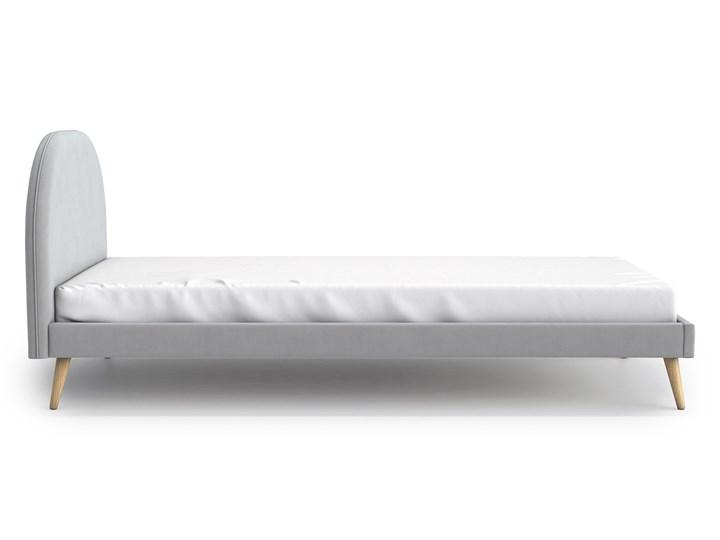 Łóżko Molly Single Bed, Aria Łóżko tapicerowane Tkanina Rozmiar materaca 90x200 cm Zagłówek Z zagłówkiem