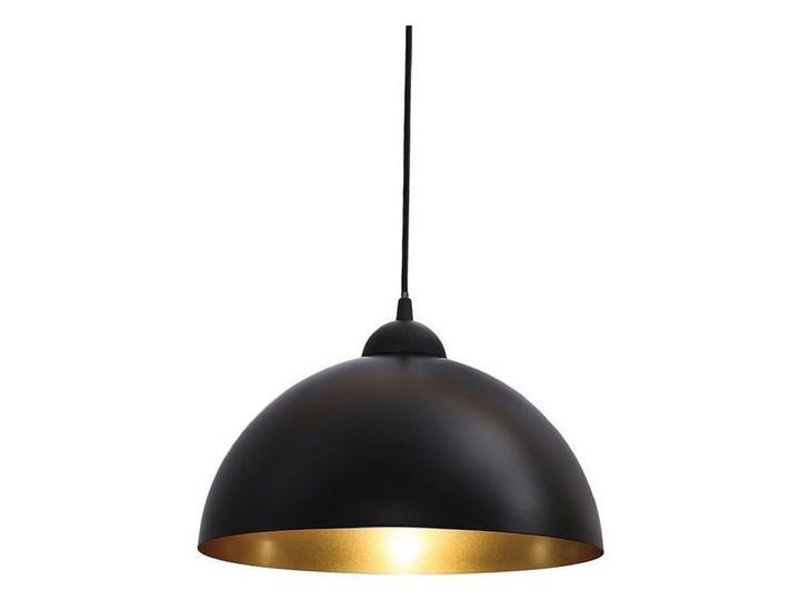 Lampa wisząca Abigali Round 1 ⌀30 cm Kolor Czarny Tworzywo sztuczne Lampa z kloszem Funkcje Brak dodatkowych funkcji