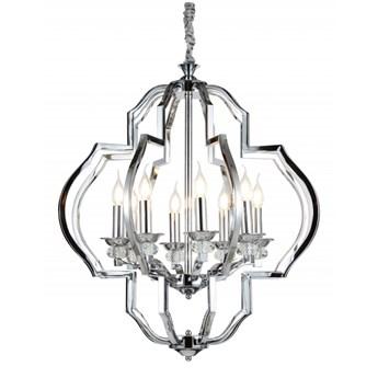 Lampa wisząca Lumina Deco LDP-17078-8-CHR Cesaro W8