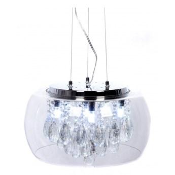 Lampa wisząca Lumina Deco LDP 8066-400 Tosso D40 Clear