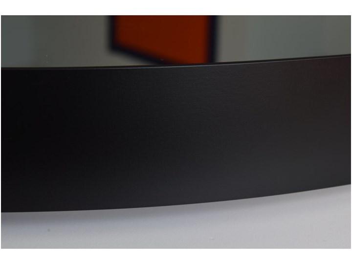 Lustro Inox R Black Lustro z ramą Okrągłe Ścienne Kolor Czarny