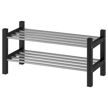 IKEA TJUSIG Półka na buty, czarny, 79x32x37 cm