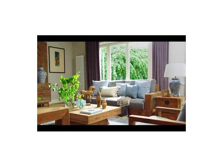Łóżko drewniane Idyllic z zagłówkiem, 180x200 Drewno Kategoria Łóżka do sypialni