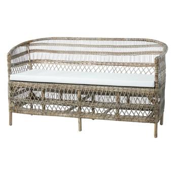 Sofa ratanowa Lene Bjerre Norah naturalna